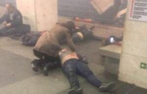 Аксубаевская девушка пыталась спасти раненного взрывом в петербургском метро мужчину