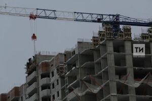 В Казани на стройке ЖК «Победа» рабочий сорвался с 13-го этажа и погиб