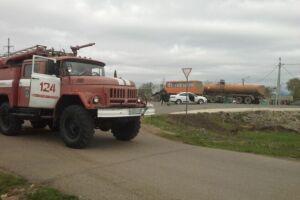 В Новошешминске «Рено» влетел в «КАМАЗ»