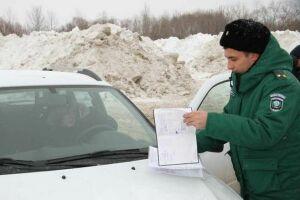 В Казани обнаружено превышение концентрации загрязняющих веществ в местах нелегальных снежных свалок