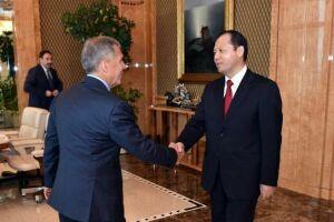 Рустам Минниханов: Татарстан дорожит высоким уровнем отношений с Китаем