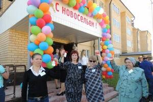21 семья в Пестречинском районе получила долгожданные ключи от новых благоустроенных квартир