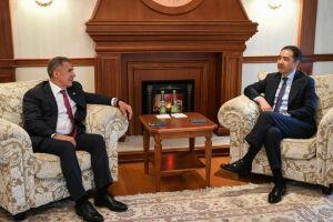 Президент РТ встретился с Премьер-министром Казахстана Бакытжаном Сагинтаевым