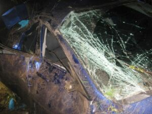 Фото: В Татарстане перевернулась «Мазда», пострадала пассажирка