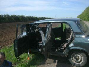 Фото: При столкновении двух авто под Зеленодольском пострадали три человека