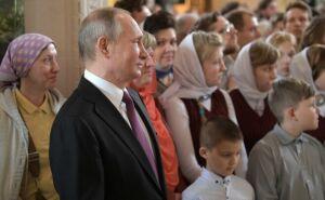 Владимир Путин стал участником освящения нового храма в Сретенском монастыре