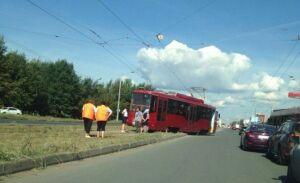 Из-за столкновения двух трамваев в Казани пострадали 5 человек