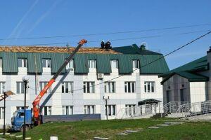 В Черемшанском районе восстановлено больше половины от общей площади повреждений, после урагана