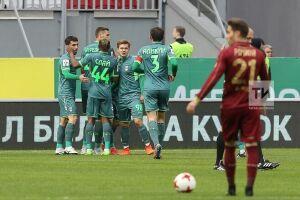 «Уфа» открыла счет в матче против «Рубина»