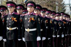 Кадеты Татарстана посетили репетицию парада Победы в Москве