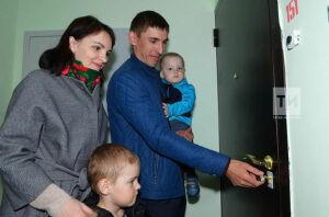 В Казани прошло торжественное заселение в дом №1 жилого района «М-14»