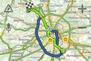 «Яндекс» проложил москвичу маршрут от столицы до Сходни в 68 лет