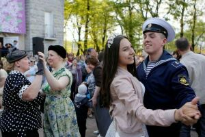 Казанский парк Победы превратят в танцевальную площадку мая 1945 года