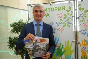 Айрат Давлетшин принял участие в акции «Подари подписку»