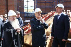 Минтимер Шаймиев оценил работы по воссозданию Собора Казанской иконы Божьей Матери
