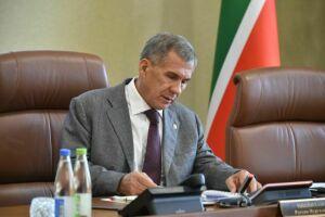 Президент РТ принял участие в заседании республиканского оргкомитета «Россия-2018»