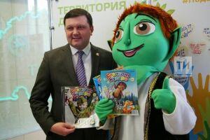 Алексей Фролов принял участие в акции «Подари подписку»