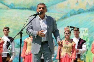 Рустам Минниханов о Сабантуе: Будем добиваться включения в Список нематериального наследия ЮНЕСКО