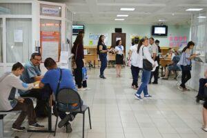 Более ста человек посетили ярмарку вакансий в Альметьевске