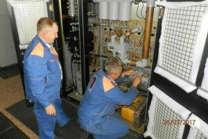 Фото: На радиотелецентре Билярска прошли ремонтные работы