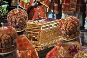 Ковчег с мощами Николая Чудотворца покинет Санкт-Петербург