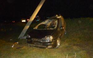 В Нурлатском районе погибли водитель и пассажирка иномарки, вылетевшей в кювет