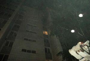 Фото: В квартире многоэтажного дома в Казани произошел пожар