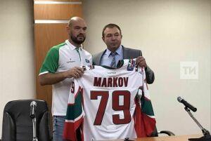 «Ак Барс» представил новичка команды Маркова