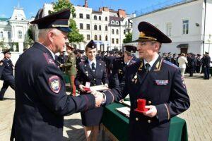 В Казани за работу в дни Кубка конфедераций награждены 82 полицейских