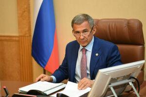 Президенту РТ презентовали методы по борьбе с коррозией оборудования и возможности «Росбанка»