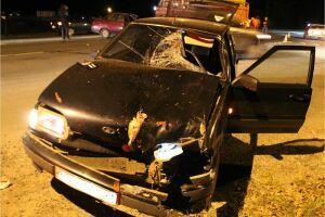 В Марий Эл водитель легкового автомобиля насмерть сбил пешехода