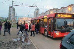 В Казани наиболее сложная транспортная ситуация наблюдается в поселках Юдино и Левченко