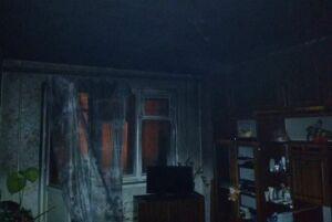 Ночью в Казани подожгли квартиру в высотке на Лаврентьева