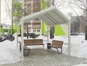 В Нижнекамске по госпрограмме «Наш двор» облагородили еще один двор по улице Юности