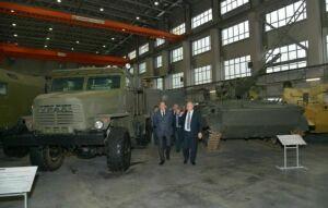 В Сети появились фото образца универсального зенитного комплекса «Деривация-ПВО»