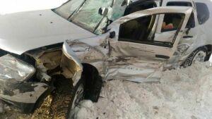 В Чистополе погиб водитель врезавшейся в «МАЗ» легковушки