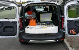 В Нижнекамском районе появились три машины «скорой помощи» для животных