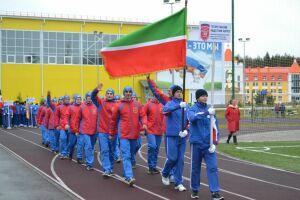 Татарстанские кадеты участвуют в спартакиаде «Кадет Приволжья»