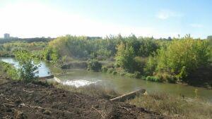 В результате дноуглубительных работ в Альметьевске загрязнили реку