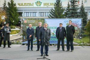 Рустам Минниханов открыл в Набережных Челнах Хлебный проезд после капитального ремонта