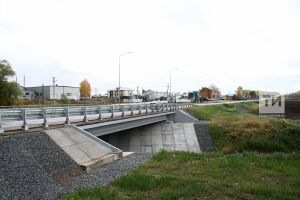 Мост через Малый Черемшан под Билярском заработал после ремонта