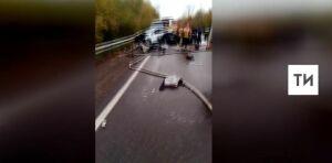 Один человек погиб в массовой аварии с автобусом в Новокузнецке