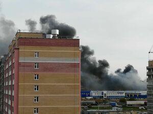 Пожар на челнинском предприятии «Челны бампер» потушен