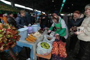 На ярмарках в РТ реализовали сельхозпродукцию почти на 300 млн рублей