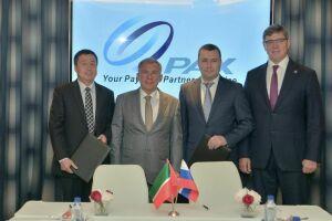 Рустам Минниханов встретился с главой китайской ИТ-компании PAX Technology