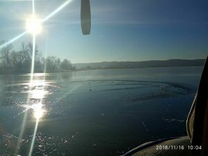 В Казани в погоне за уткой мужчина провалился под лед и погиб