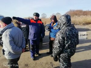 В Зеленодольском районе РТ инспекторы ГИМС поймали 15 рыбаков, вышедших на тонкий лед
