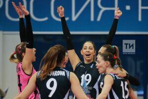 Волейболистки Казани в домашнем матче переиграли гостий из Минска