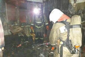 В Бугульме в четырехэтажном доме сгорел мужчина