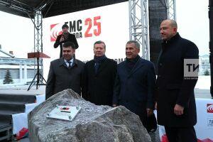 Минниханов и Зубков дали старт строительству нового цеха Казанькомпрессормаша